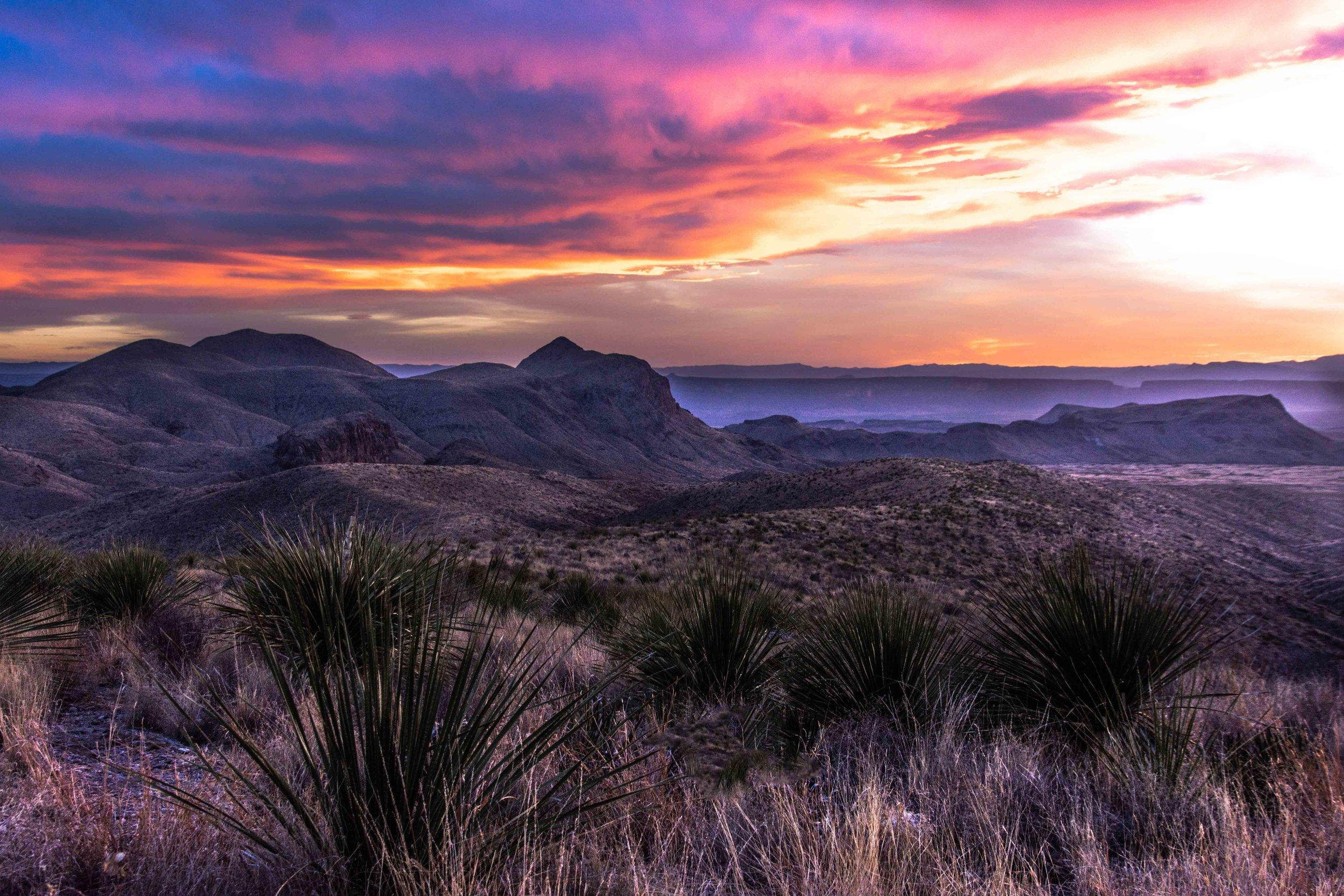 Sotol Vista - Big Bend National Park