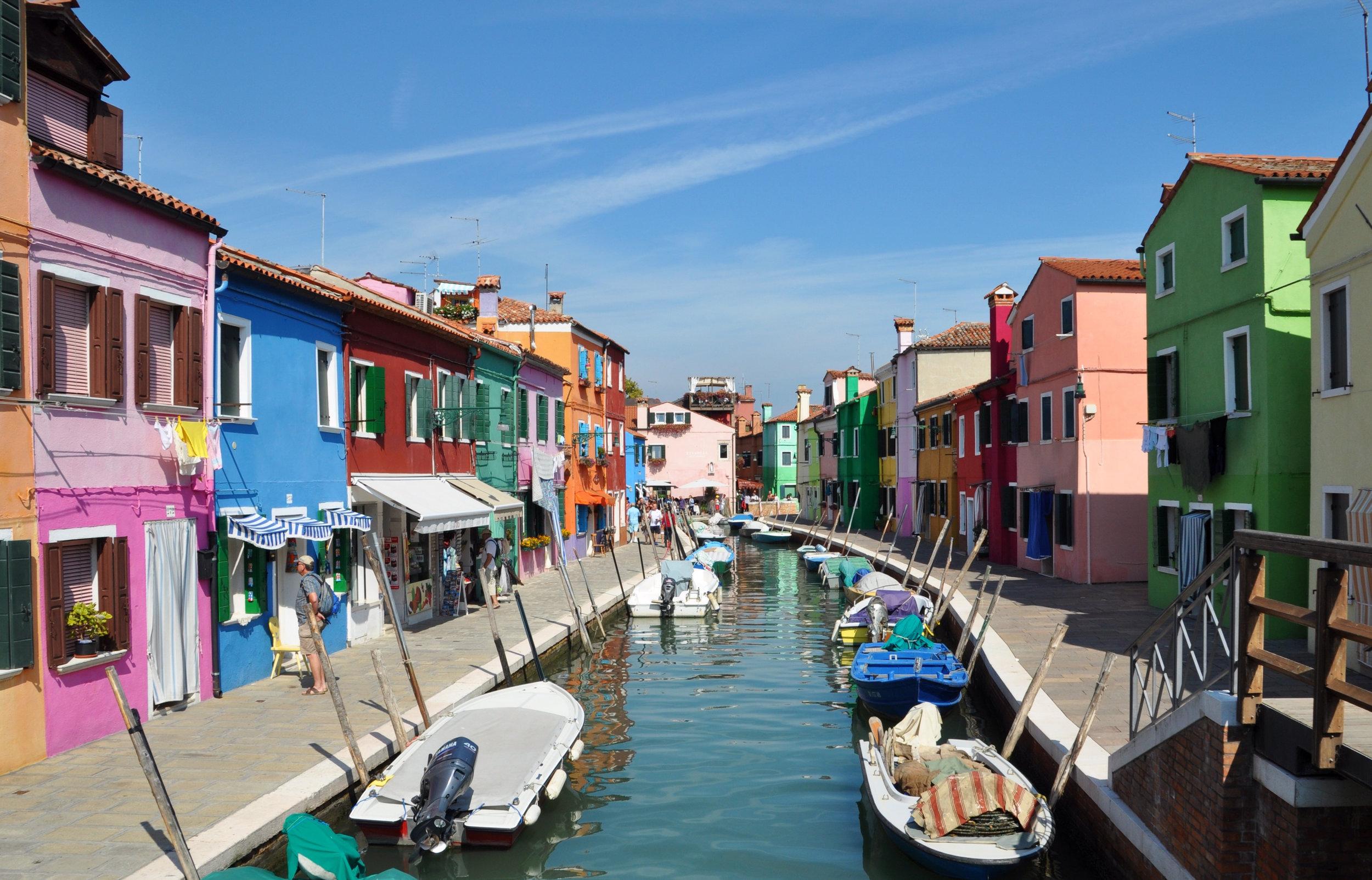 Island of Burano, Italy