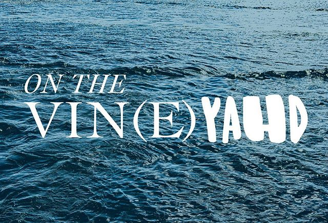 Spent last weekend on the vin(e)yahd with one of my dearest friends. I couldn't help but think of the eclectic island being much like a sophisticated serif vs a rough handwritten font. 🙌🏻🌊