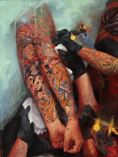 SHAWN BARBER - PAINTER & TATTOO ARTIST
