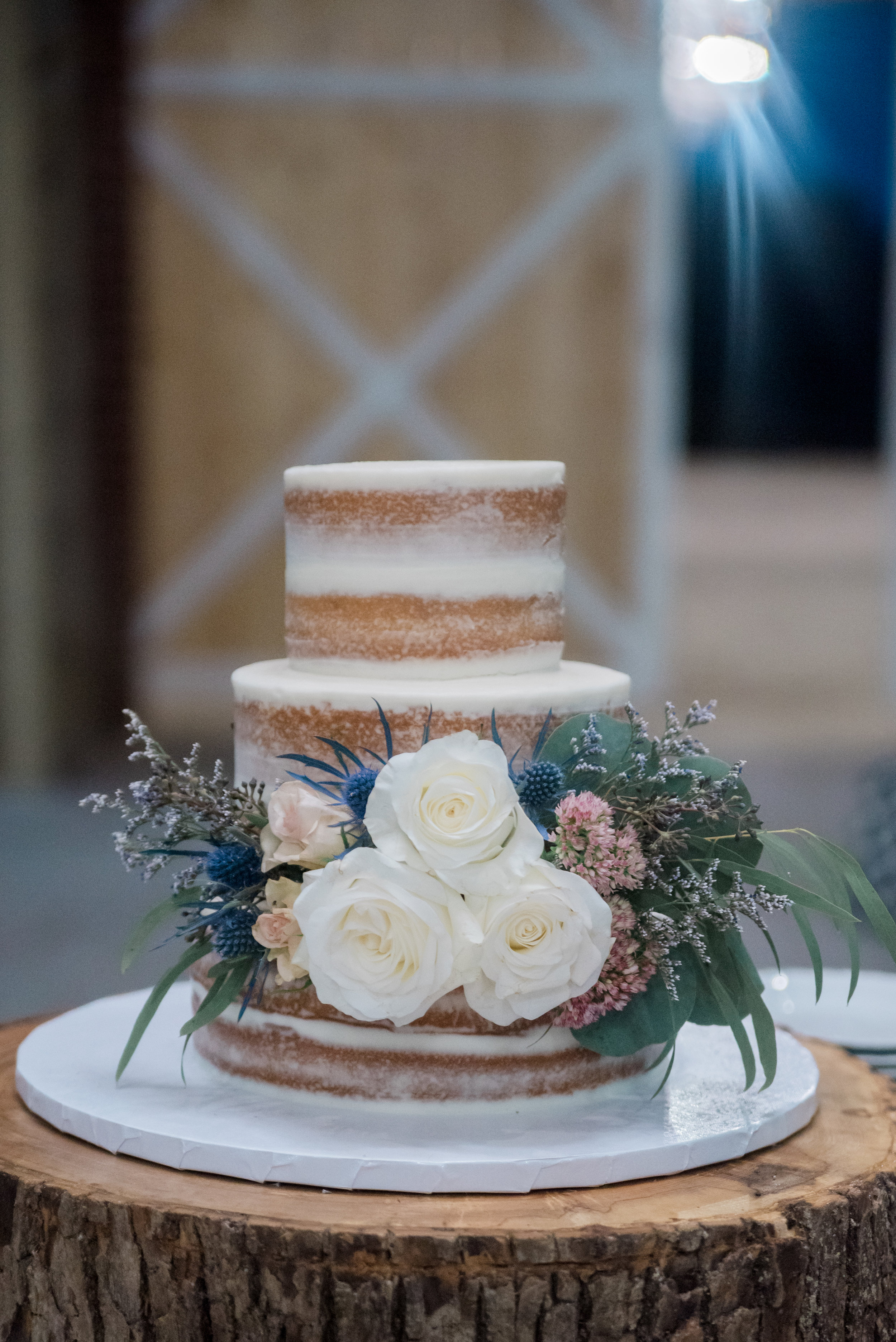 This scrumptious naked cake was provided by Columbia Cupcake, I was lucky enough to take some of it home, I cannot say it lasted longer than 24 hours. My family and I dug into it the second I got home