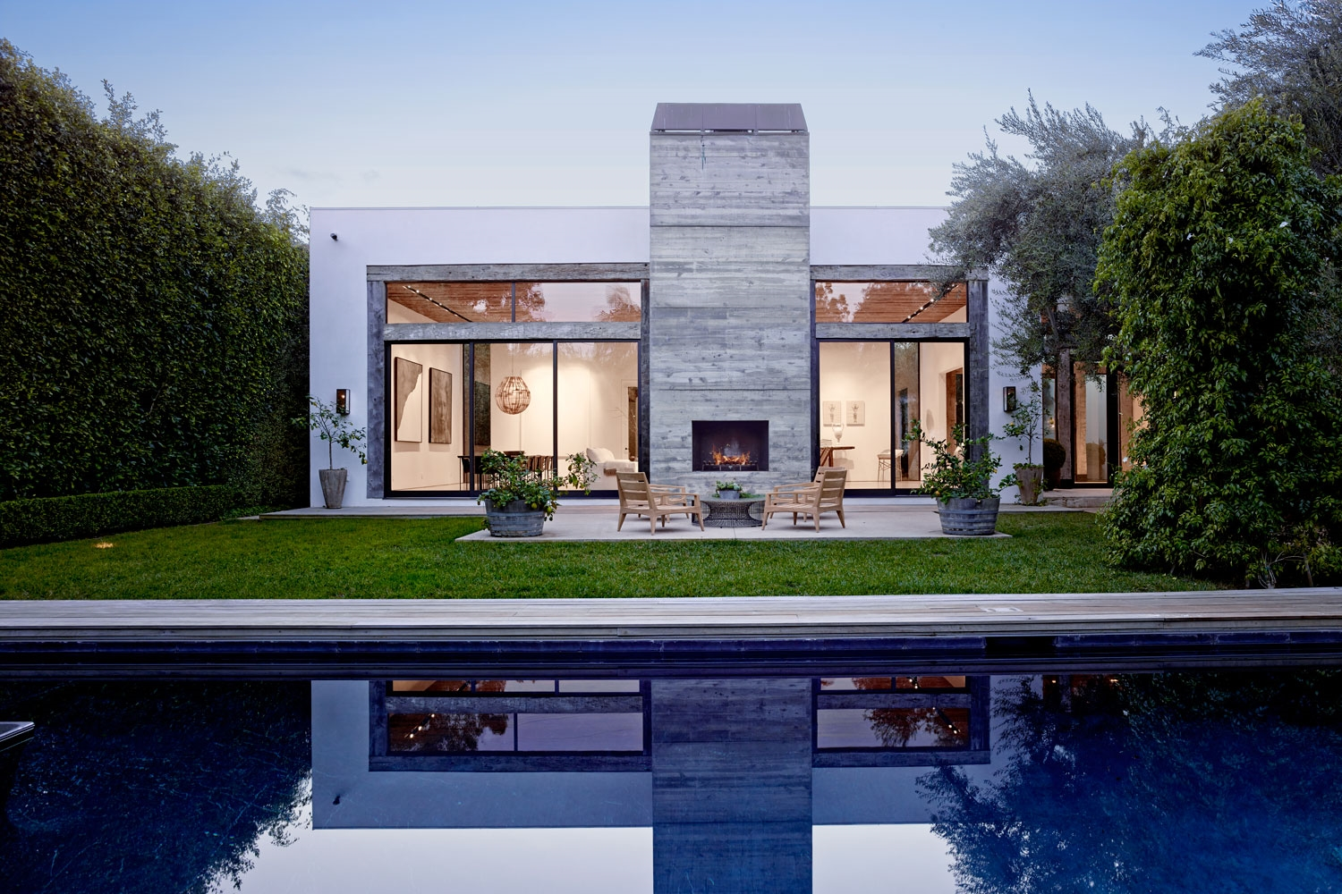 Beverly Hills Residence - Architectural Design // previous work by Alex Babich for Standard Arch