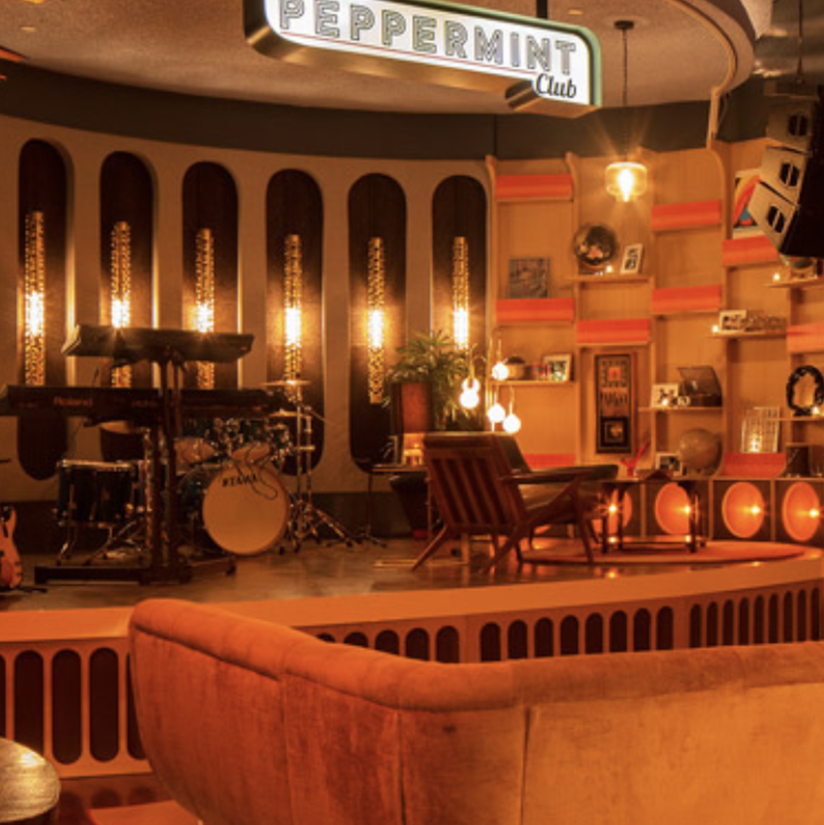 The Peppermint Club   Design, Permit Drawings, All Trades including Structural and MEP + Permit Expediting