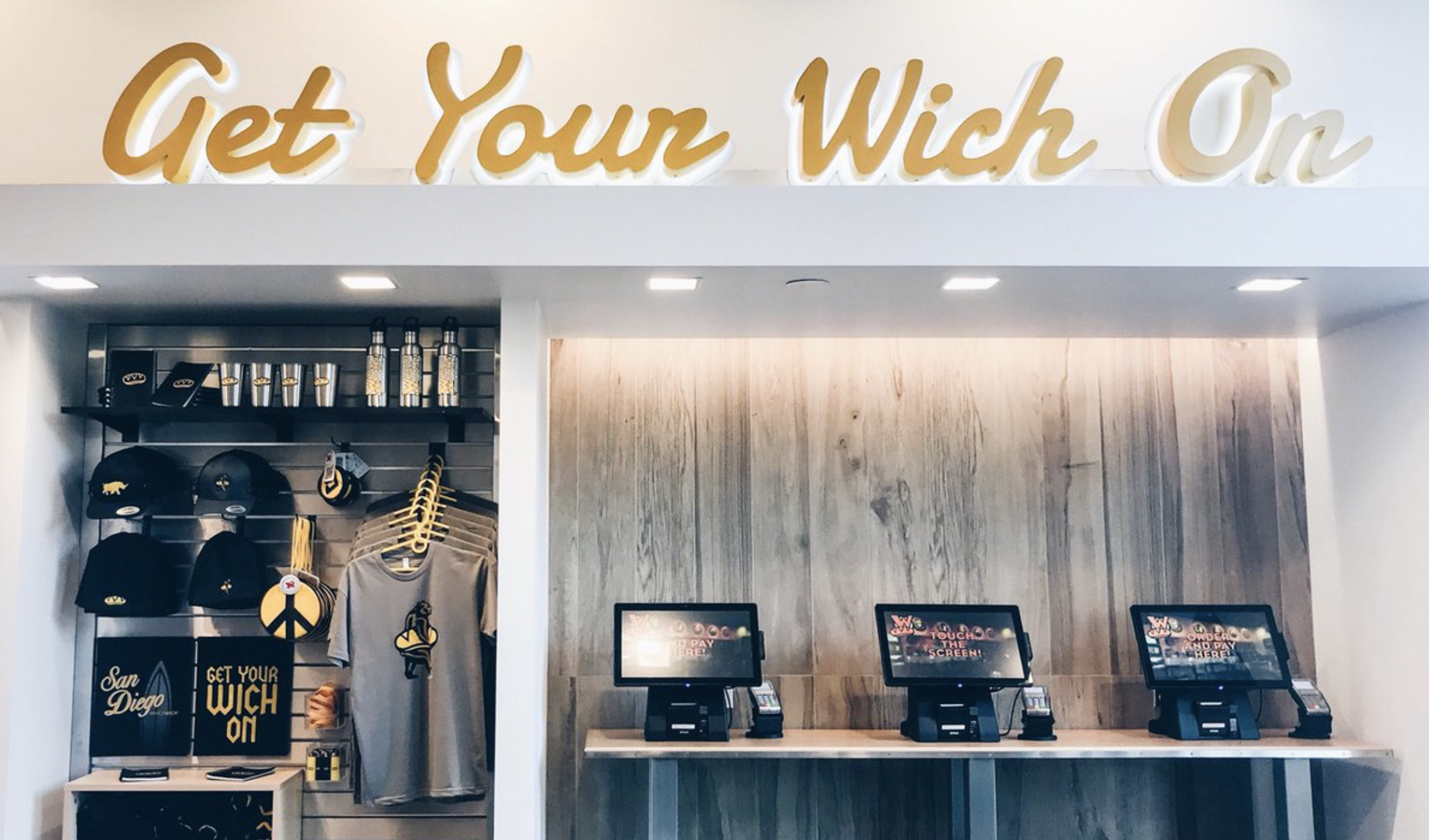Which Wich   Franchise Reset, Front of House Design Upgrade Package (SDSU Pictured)