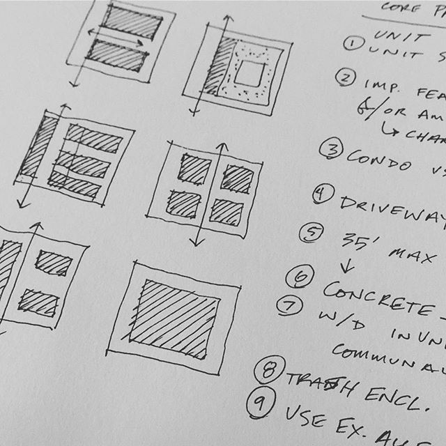 Concept schematics and key discussion topics for a new project. Great project start with a big idea and pen to paper.
