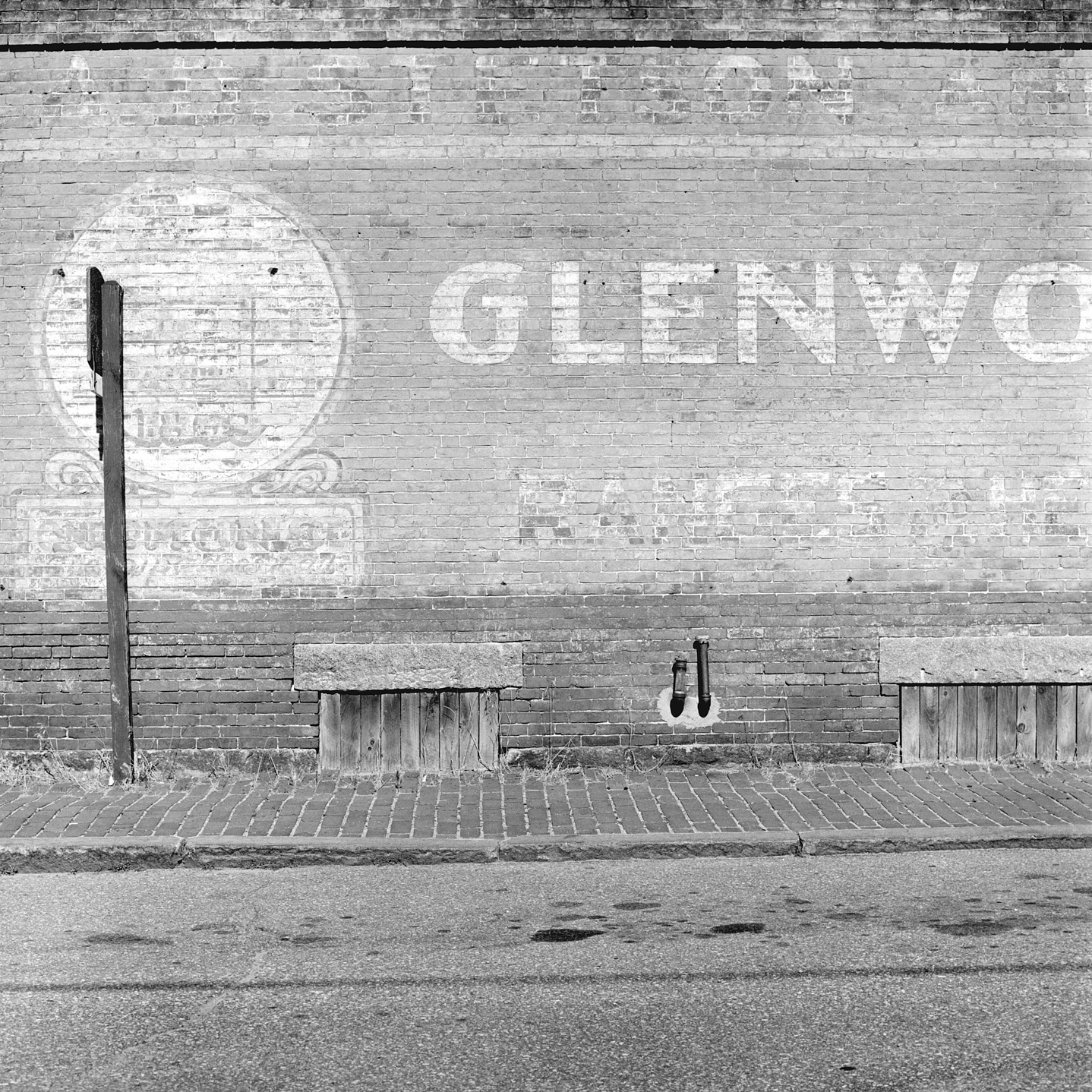 Glenwood Wall, Bath, ME, 2002