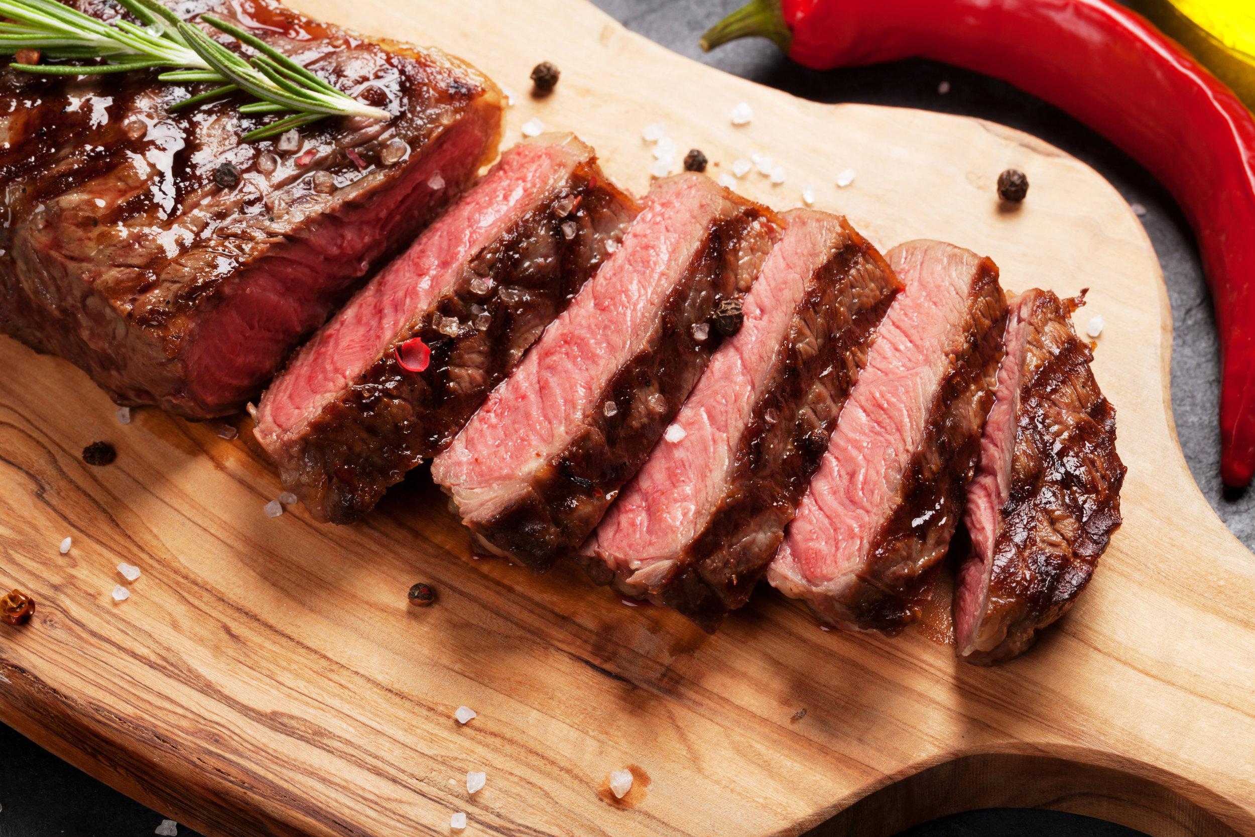 Our Ever-Popular Striploin Steak