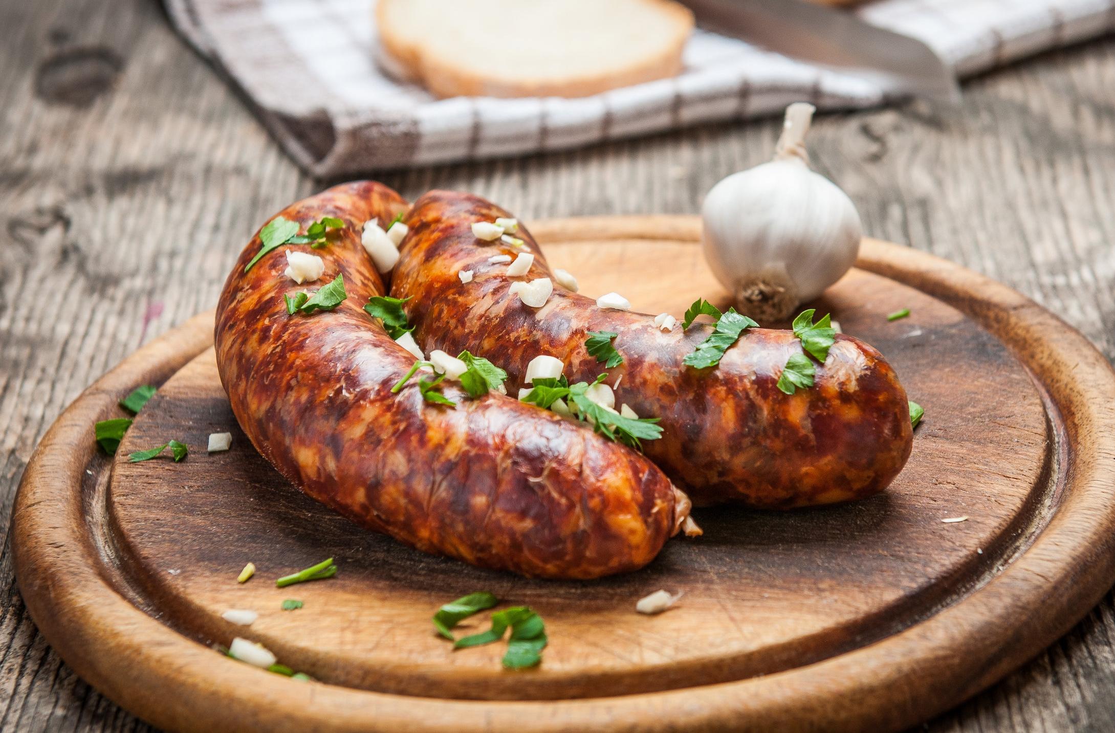 Honey Garlic Sausages