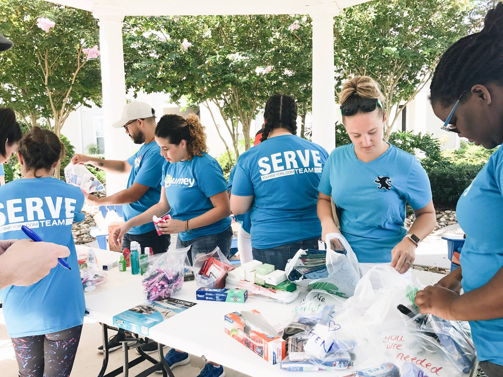 Again, as we begin to understand the needs in our community we will be organizing relief efforts and outreaches. If you already know that you are going to want to be apart of serving our community after the storm, please click on the link below.
