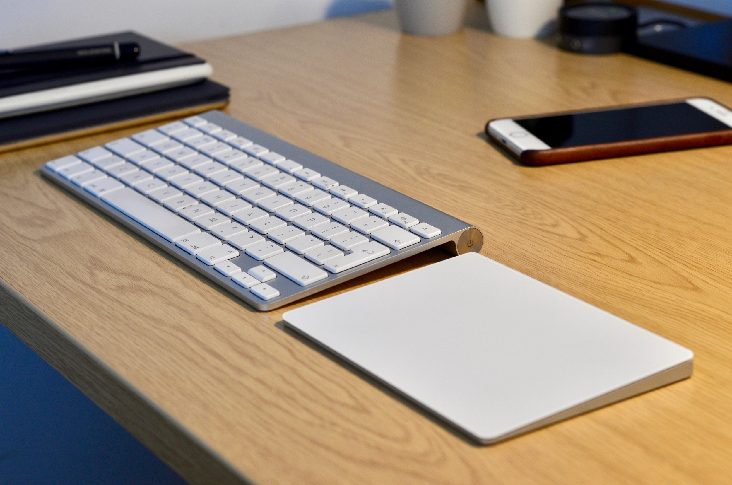 Apple's Magic Trackpad is my preferred option over a conventional mouse
