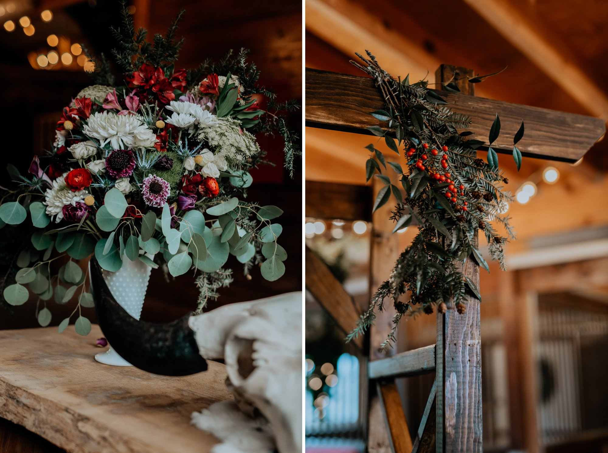Richmond VA RVA Countryside Winter Wedding Bandits Ridge Lush DIY Florals Snowy Portraits_38.jpg