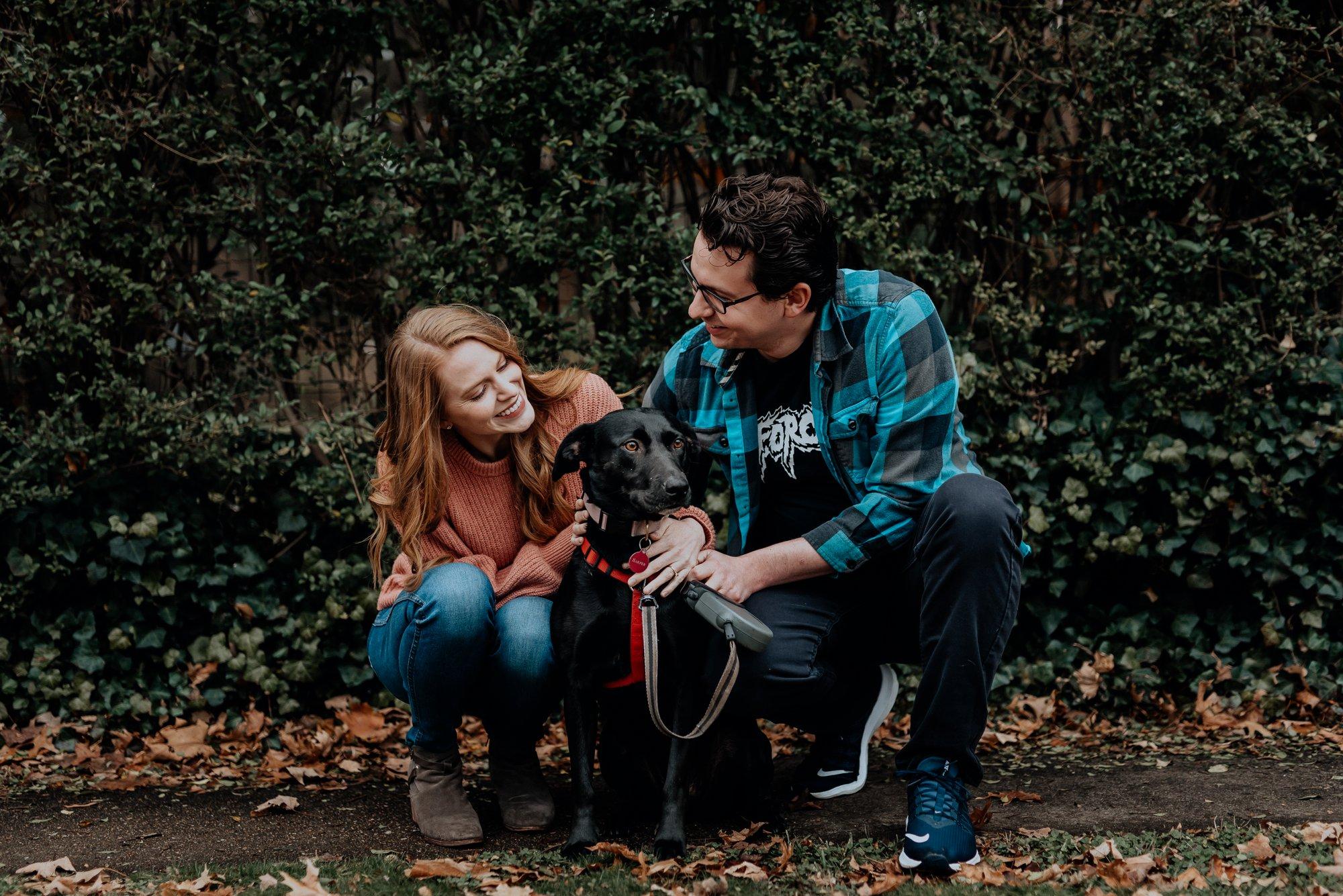 Richmond VA Winter Engagement Session Bellevue Carytown Byrd Park Flit Photography Wedding Photographer