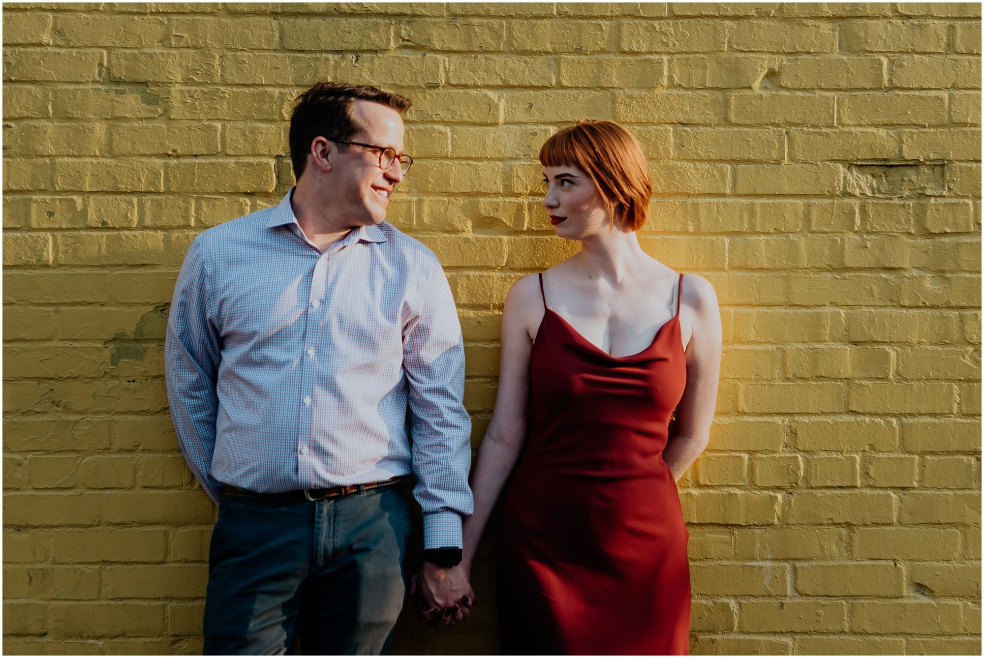 Taylor and Collin Old Town Alexandria Kaleidoscopic Rainbow Summer Engagement Session Flit Photography00103.jpg