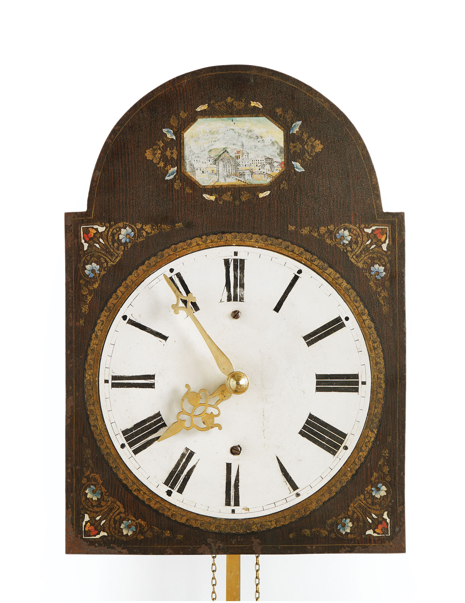 Mandtler Clock no. 8267, 1865. Mennonite Heritage Village 1966.406.1 (MC0217)