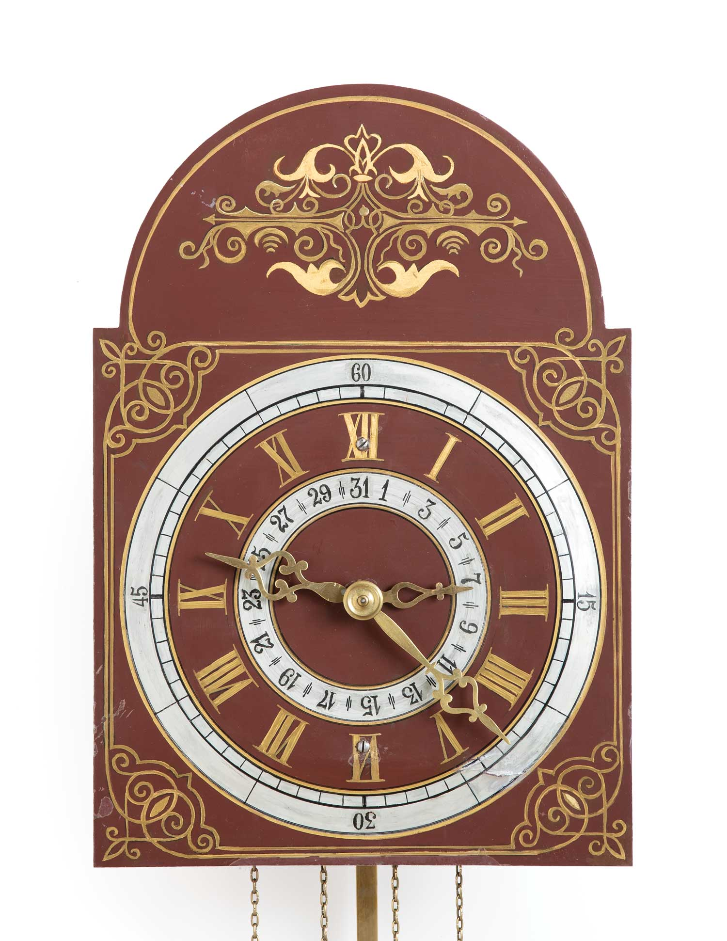 Kroeger Clock no. 1689, 1893 (MC0002)