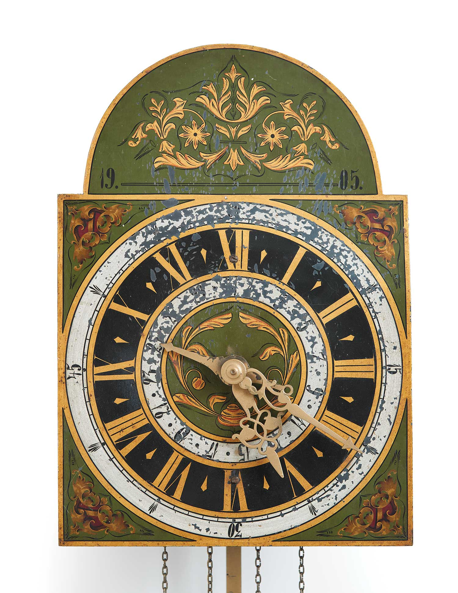 Mandtler Clock no. 303, 1905. Mennonite Heritage Village 1966.7000.348 (MC0218)