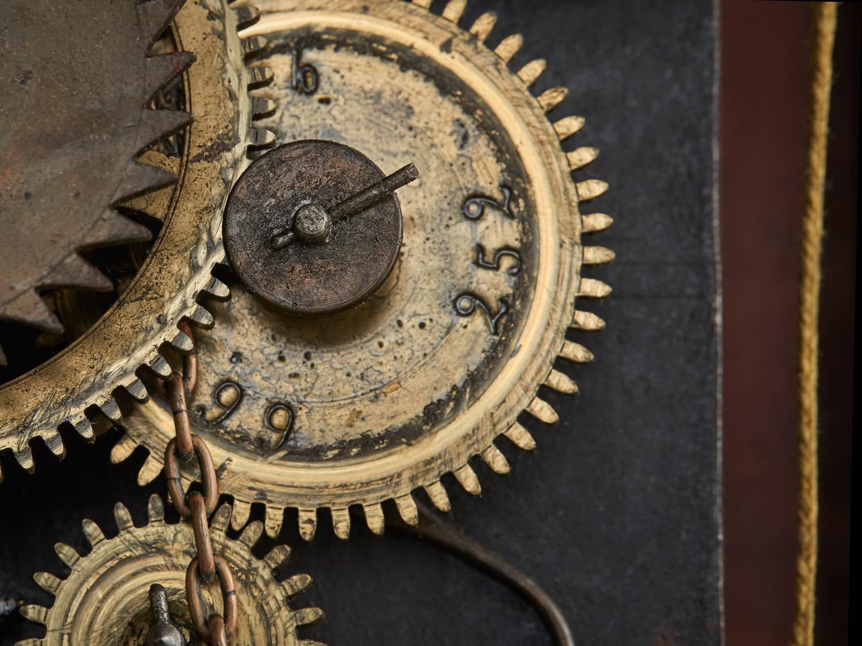 Inside a Mandtler Clock