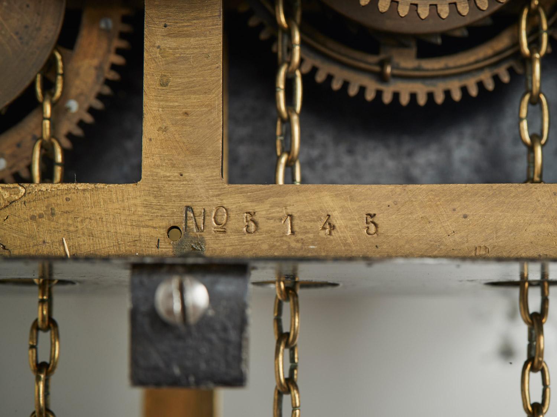 Inside a Kroeger Clock