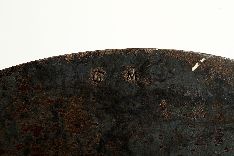 G.M. stamped on back of dial denotes the maker, Gerhard Mandtler.
