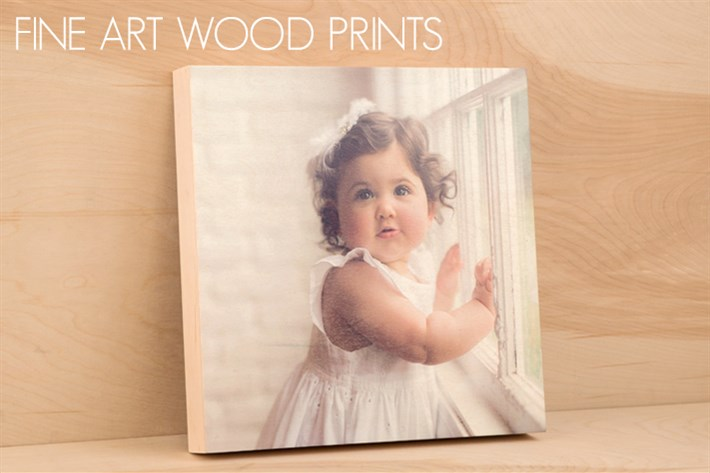 WOOD PRINTS - starting at $150  Modern meets rustic, Fine Art Wood Prints feature your imagery on a gorgeous wooden surface with warm tones and natural grain.