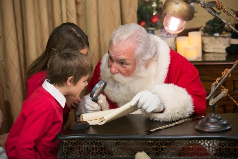 Santa and Set Will Vary from Year to Year!