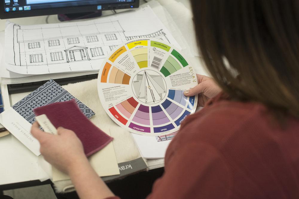 online associates degrees for interior design