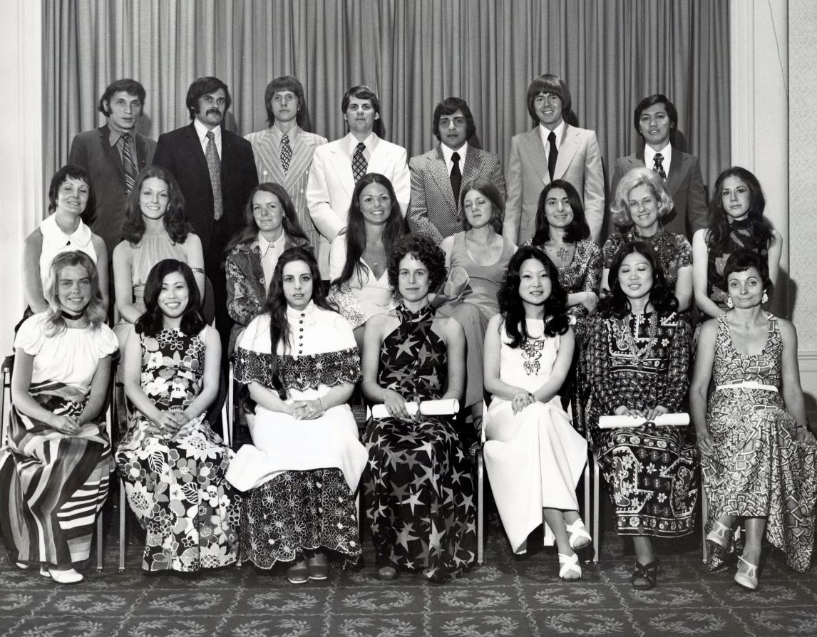 """NYSID Class of 1972: In his address at the 1970 commencement ceremony, guest speaker and interior designer  Louis Tregre  promised graduates that interior design is, """"a truly exciting profession because we have it in our power to create and establish workable and beautiful surroundings in which man spends 80 to 90 percent of his time working, living, and entertaining himself. It's a tall order and one that does require your entire dedication and involvement, but it is also the most rewarding."""""""