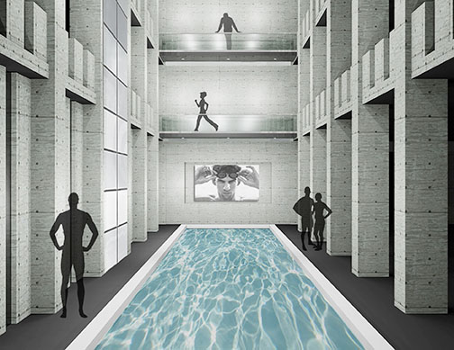 Pool, M.B.A. Athletic Center