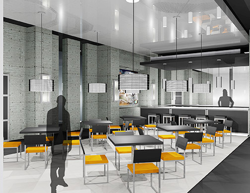 Bar Area, M.B.A. Athletic Center