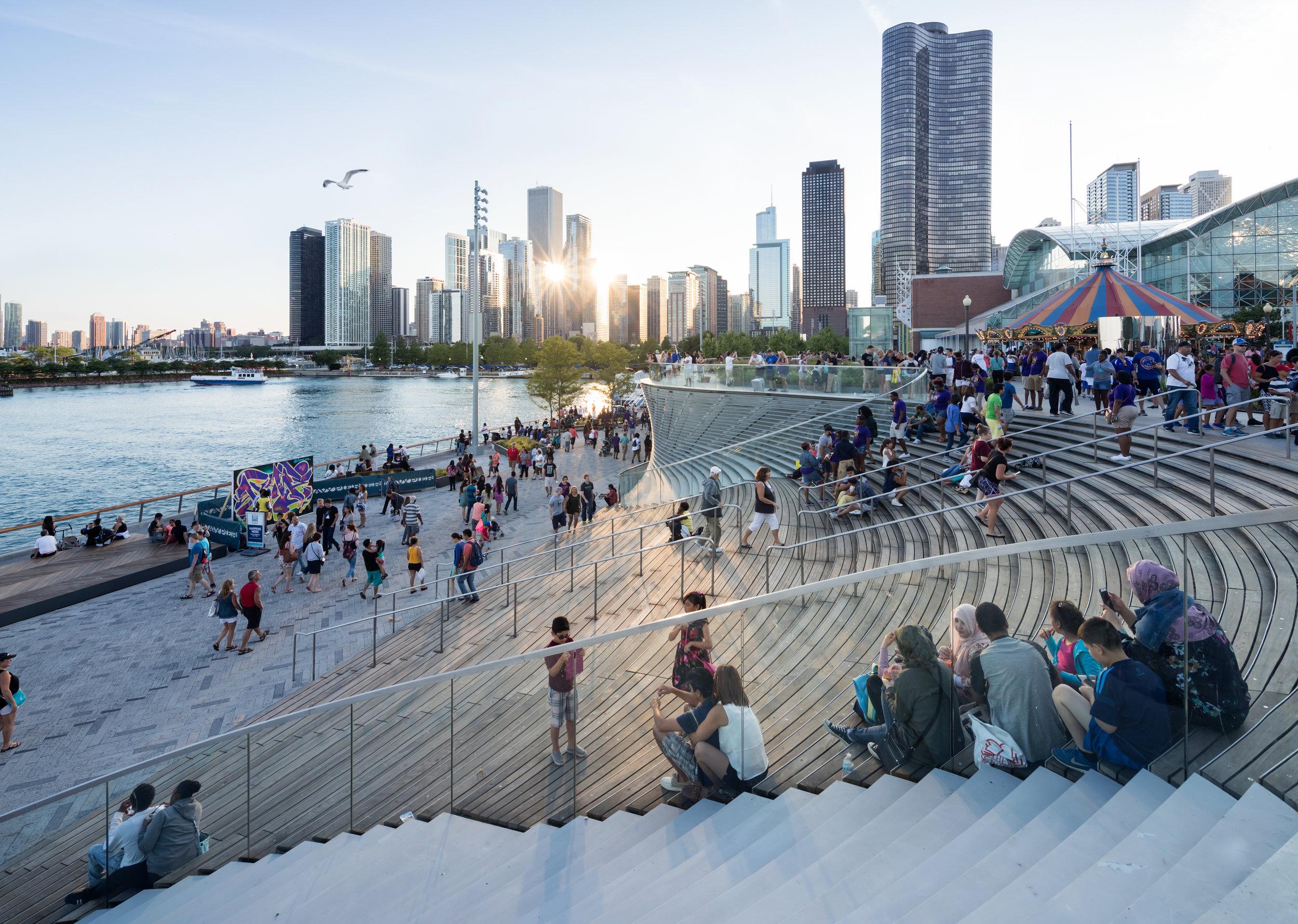 nARCHITECTS, Chicago Navy Pier