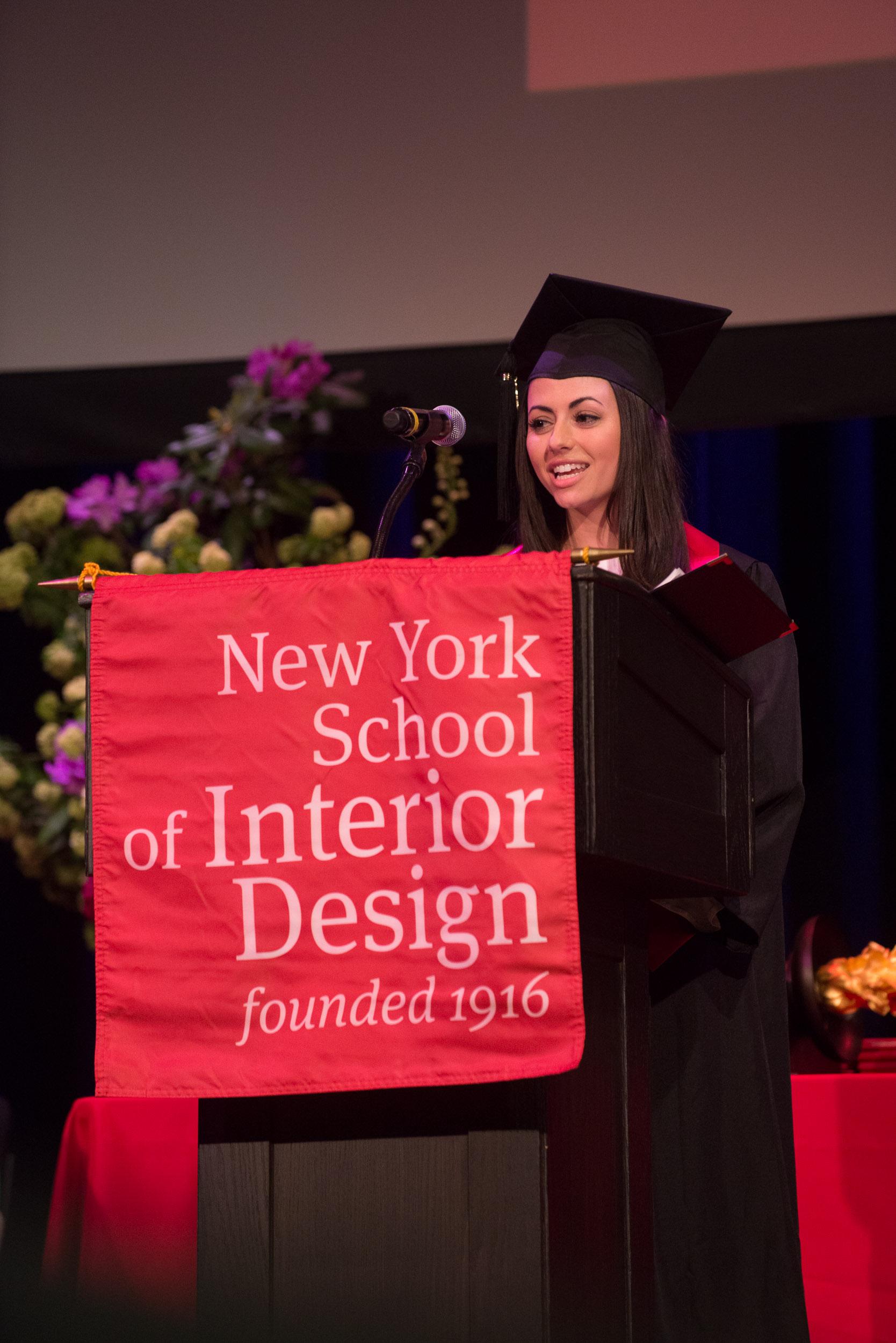 Commencement 2019 New York School Of Interior Design