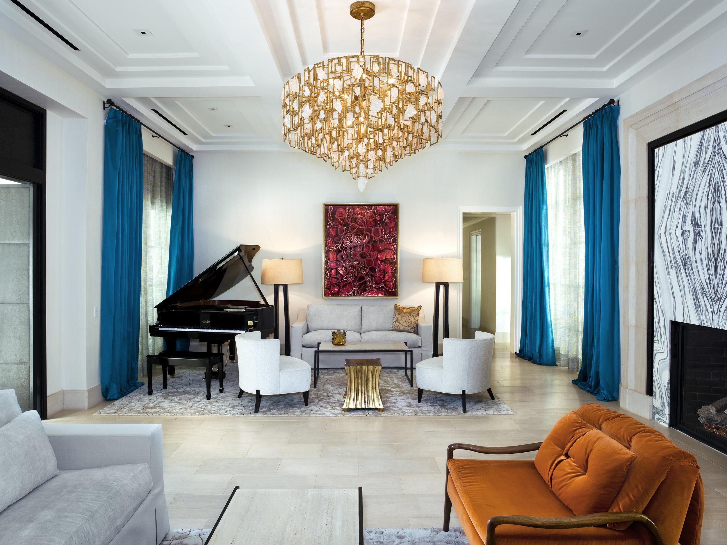 Presidential Suite at Hotel Bel-Air located in Los Angeles