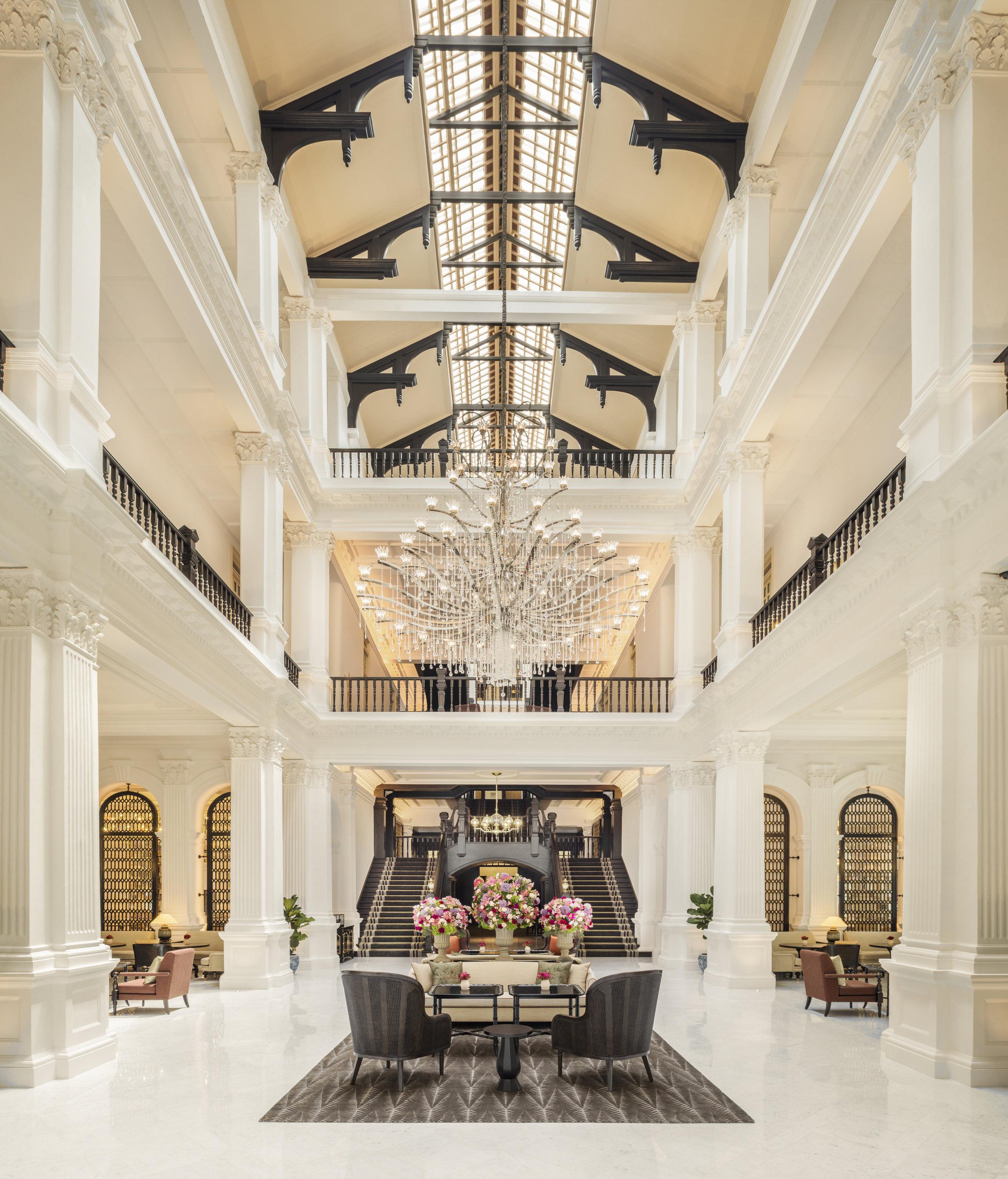 Grand Lobby of Raffles Singapore