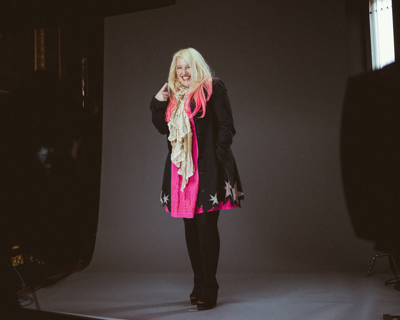 portrait photographer Tim Cole shoot Jane Goldman