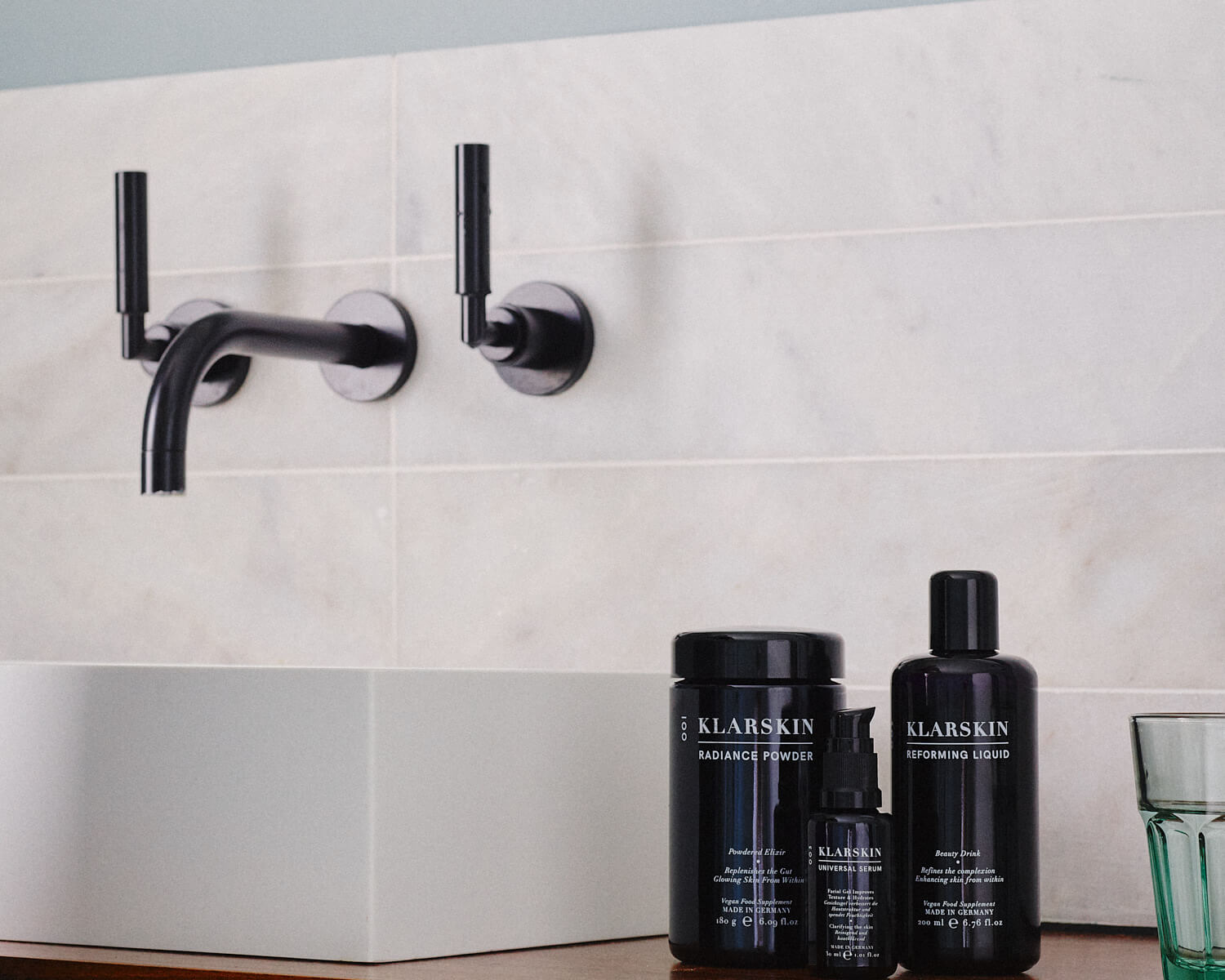 lifestyle photographer TIm Cole shoots wellnness product shots for Net-a-Porter