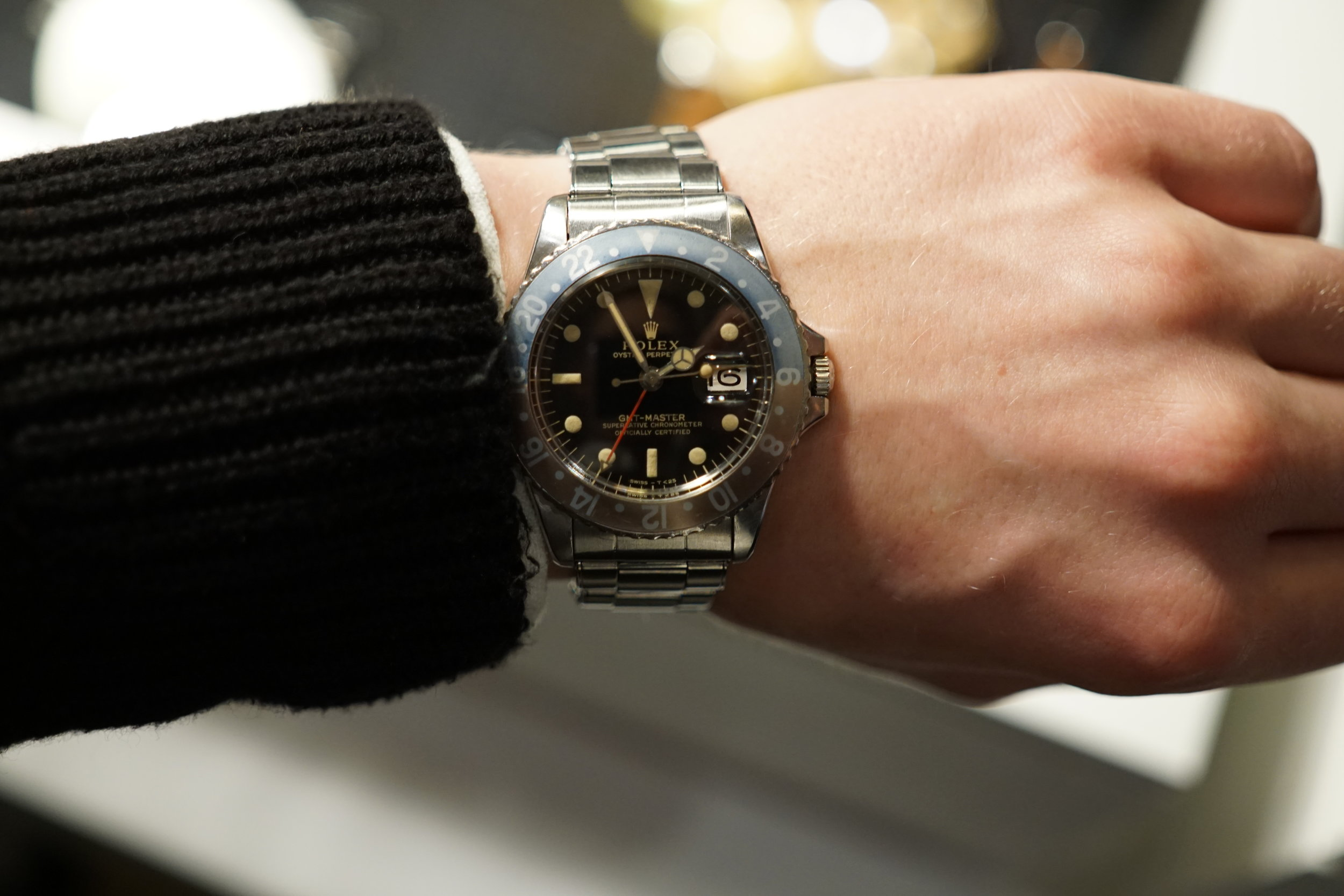 Any Rolex collector's wet dream - the GMT Master ref. 1675 in great condition with some beautiful patina.