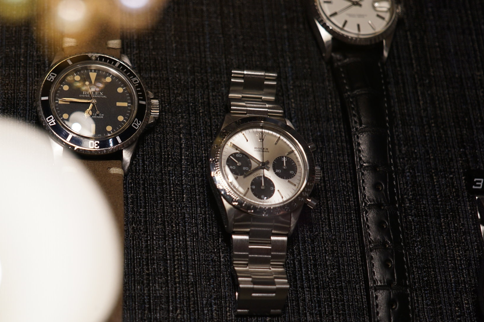 And what do we have here... A Rolex Daytona ref. 6262 from 1970.