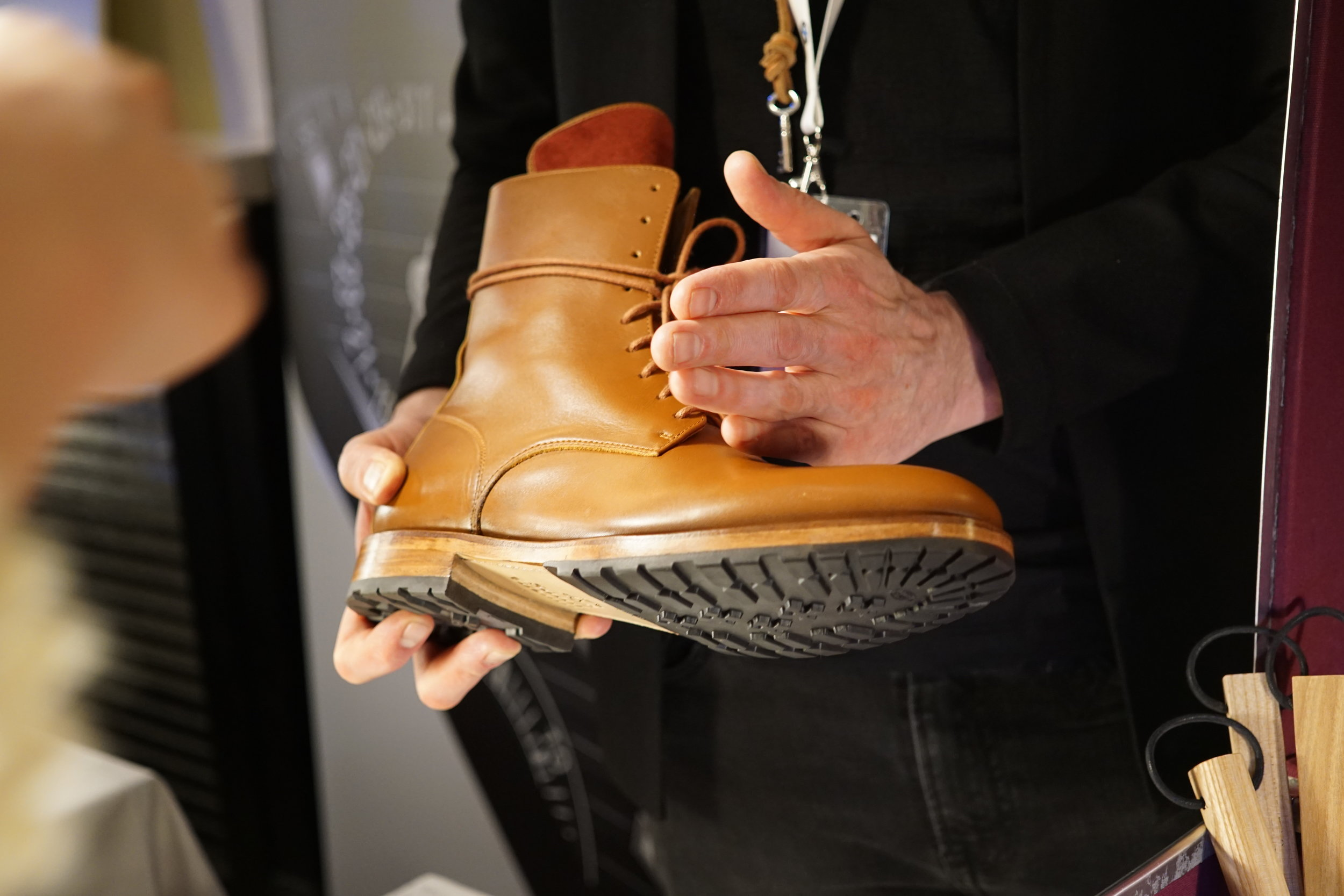 Not everything at the event was about watches. Saint Vacant was also present, showcasing their beautiful shoes.