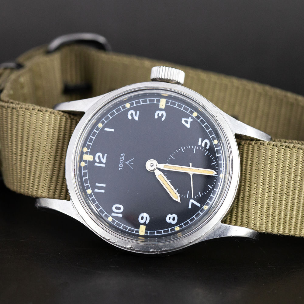"This Omega ""Dirty Dozen"" from 1944 is on sale at www.longitudi.fi"