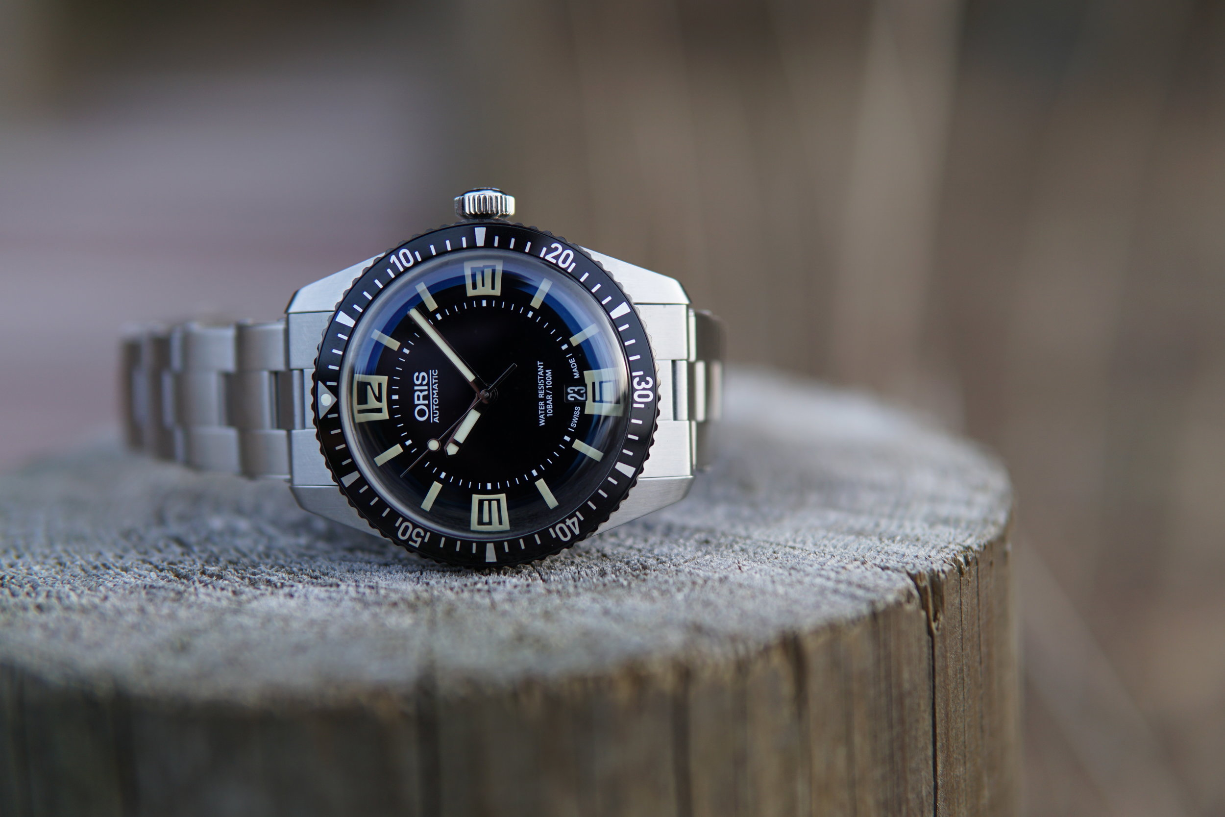 The Oris Divers 65 is a great re-issue and worry-free way to enjoy some vintage vibe.