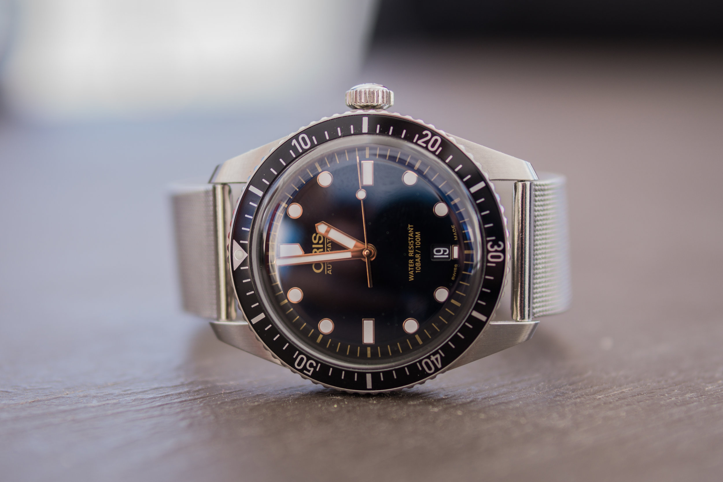 Oris Divers Sixty-Five Movember Limited Edition