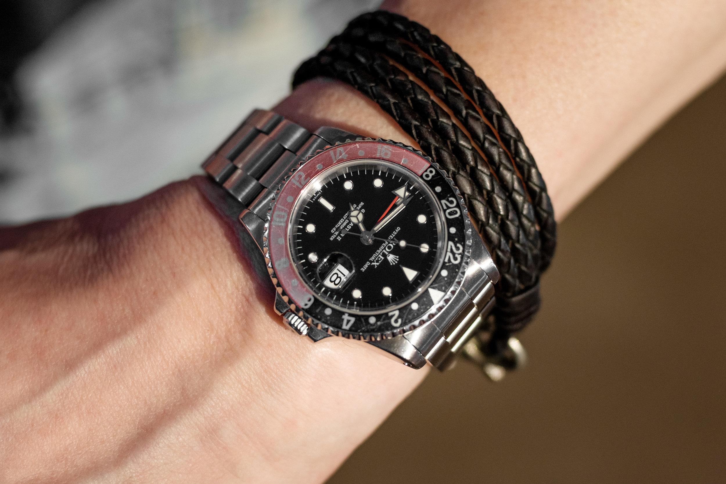 "Rolex GMT Master II 16710 ""Coke"""