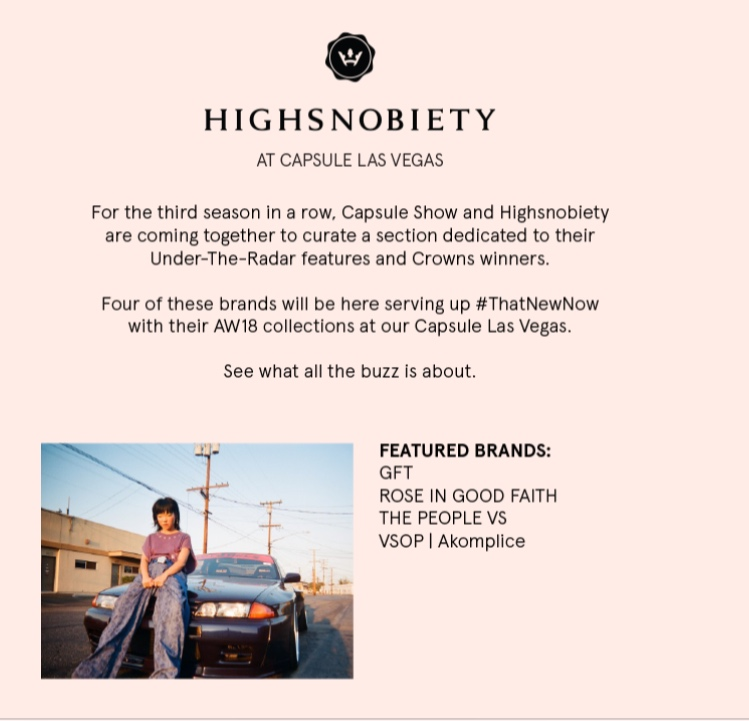 LIBERTY FAIRS / HIGHSNOBIETY
