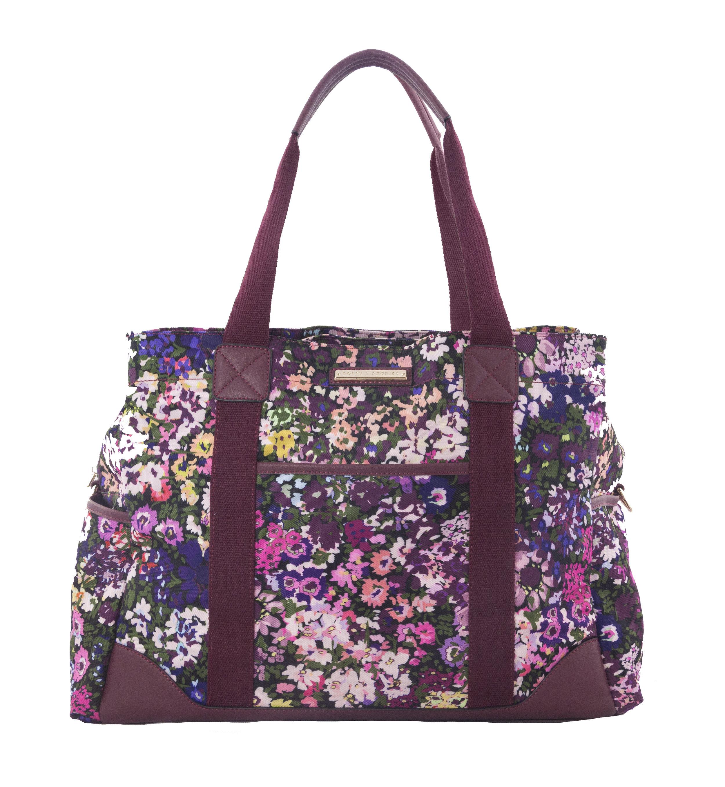 Poppy & Peonies Weekender Bag