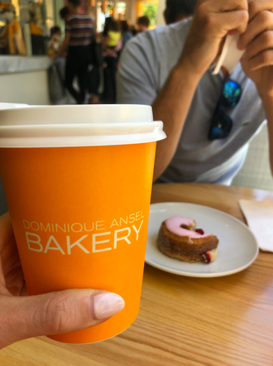 At Dominique Ansel Bakery Los Angeles