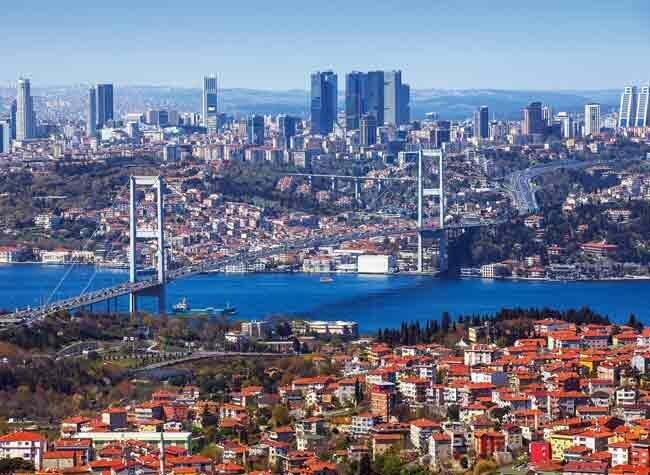 Le pont qui relie l'Asie et l'Europe