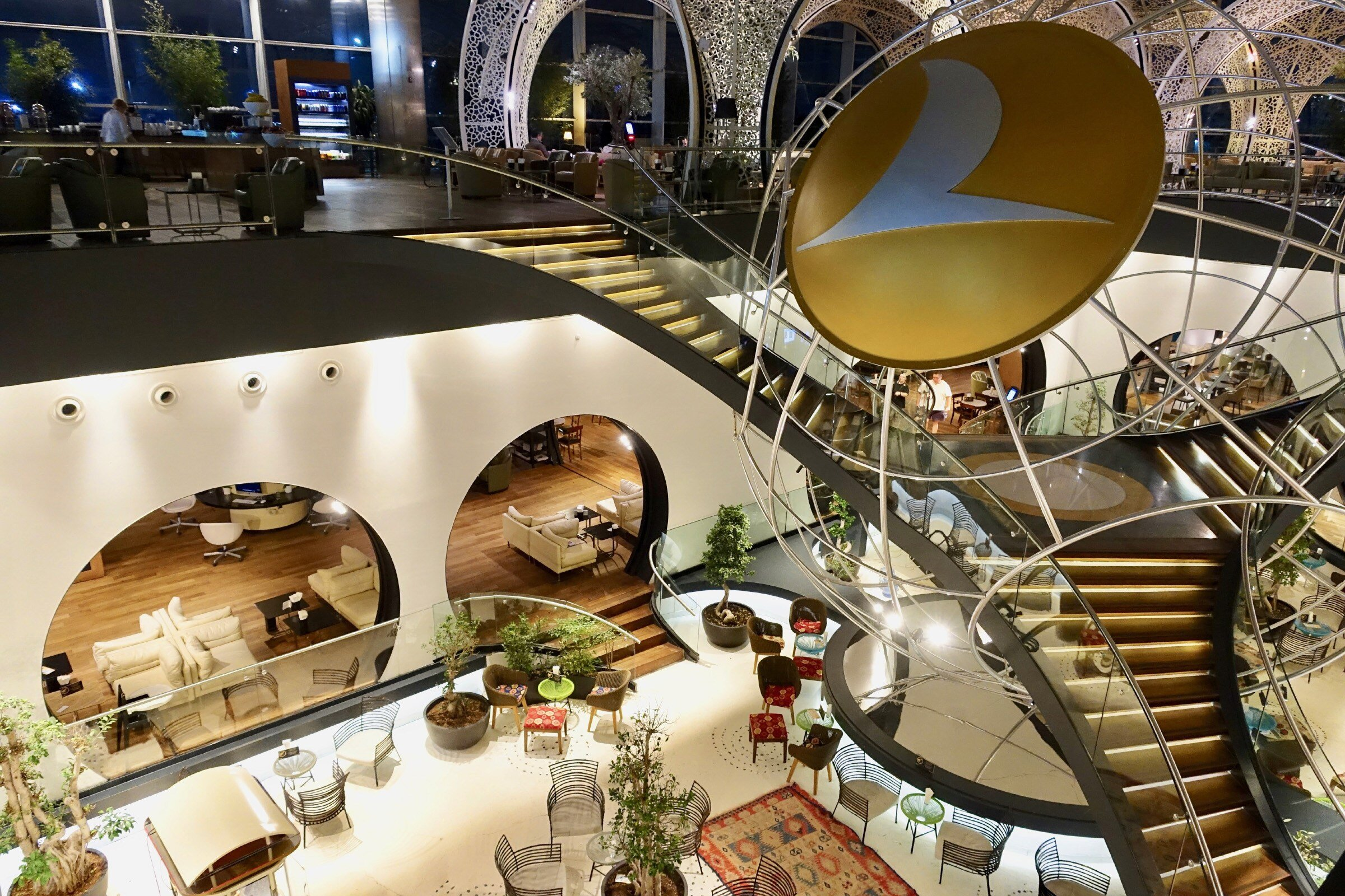 Turkish Airlines Business Lounge à IST