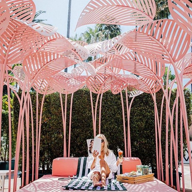 #travelinspiration #dreamhotel of the day @bevhillshotel 😍🌈🙋🏼‍♀️ one day i'll go #PrettyWoman 😬meanwhile, my #presstrip to #miami has been postponed to 2020 so I wont be going to the beach/pool this #weekend but... oh well. I guess I can stay home for a few days. I guess 🤷🏼‍♀️#thursdayfeels #travel #inspiration #keepondreaming #hotelsnob #hotel #lax #mia #beachlife #nottoday pic @bevhillshotel