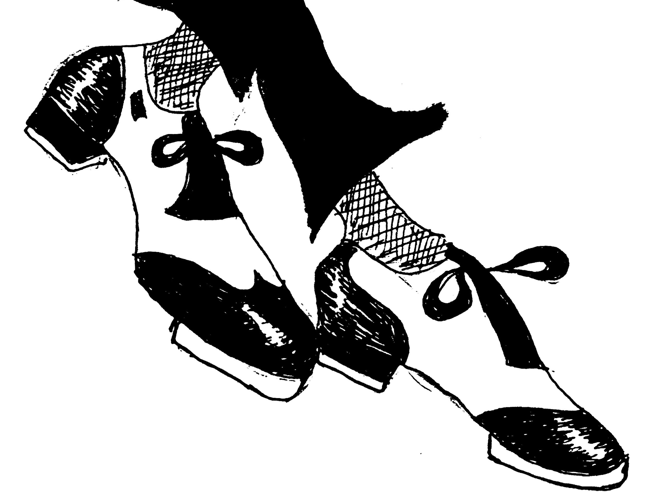 tap shoes drawing by dean diggins.jpg
