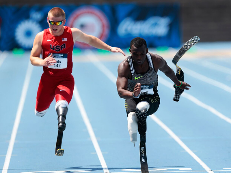 Double amputee Blake Leeper entered in USATF Outdoor Championships -
